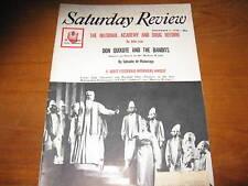 1960 Saturday Review F. Scott Fitzgerald, Updike, O'Casey, Etc