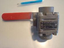 Worcester valve 1-4466TSE R2 BODY CF8M TRIM 316 SEAT TFE CWP 1000 MAX TEMP 4OOF
