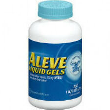 Aleve Liquid Gels Naproxen Sodium Capsules 160 ct