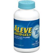 Aleve Liquid Gels Naproxen Sodium Capsules 160 ct