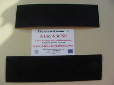 "5 Metres of 20mm (3/4"") Black Strong  Sew On Velcro 5m Hook and 5m Loop Tape"