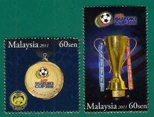 2011 MALAYSIA AFF SUZUKI CUP CHAMPION (2v) MNH