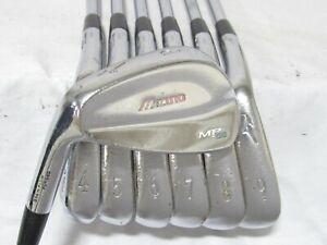 Used LH Mizuno MP-68 Forged Iron Set 4-P Stiff Flex Steel Shafts