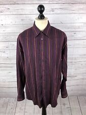 YSL YVES SAINT LAURENT Shirt - Large - Striped - Great Condition - Men's