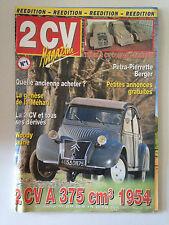 2CV MAGAZINE N°1 1999 2CV A 375 CM3 1954