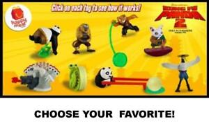 McDonald's 2011 DreamWorks Kung Fu Panda 2 Toys-Choose Your Favorite!
