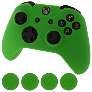 Protective skin for Xbox One Controller & Thumb grips pack ? Green | ZedLabz