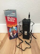 Vintage Realistic TRC-212 5-Watt 40 Channel CB Radio Transceiver Walkie Talkie