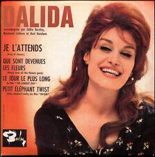 DALIDA - JE L'ATTENDS /  LE JOUR LE PLUS LONG - CD SINGLE REPLICA DU SUPER 45 T