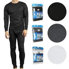 Therma Tek Men's Underwear 2 Pc waffle malha térmica Long Johns Conjunto Blusa E Calça