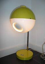 Grande Lampe Vintage eyes ball Jaune  des Années 60's - 1970's