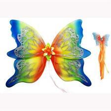 Large rainbow fairy wings