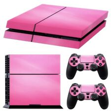 Pink Vinyl Decal Skin Sticker Cover For PS4 Playstation 4 Console & 2 Contr P5Z2