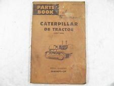 CAT Caterpillar D8 PARTS MANUAL  36A4469-UP UE36169