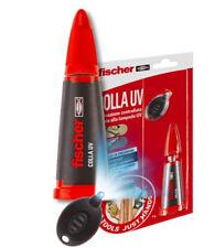 Fischer Colla UV Ntjh cianoacrilato con Attivatore Luce LED ultravioletti ...