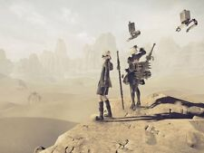 POSTER NIER: AUTOMATA NIER ANDROID YORHA 2B 9S A2 ROBOT GAME GIOCO PS4 FOTO #6