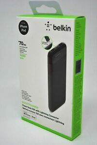Belkin Boost Charge Portable Power Bank Battery 10000mAh Lightning for iPhones