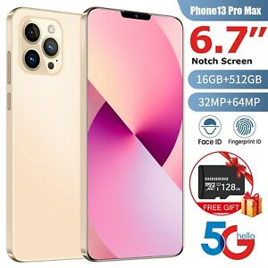 New i13 Pro Global Version 6.7 5G Smartphone 16GB+512GB 64MP 6000mAH Android 10