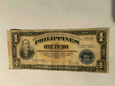 One Peso 1922 Philippines Victory Note Series No. 66 Circulated