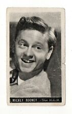 Mickey Rooney 1947 Kwatta Film Stars Belgium Chocolate Card #76