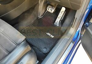 Rugged Rubber Floor Mats Tailored Heavy Duty VW Passat B6 B7 06-15
