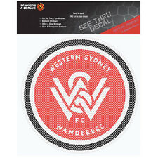 Western Sydney Wanderers iTag See-Thru Decal Sticker