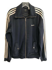 Adidas X Vespa Embroidered Stitched Logo Track Jacket Full Zip - Men's Medium