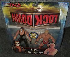 TNA LOCKDOWN STING VS JEFF JARRETT SET RARE ERROR PACKAGE 2006 FREE SHIPPING WWE