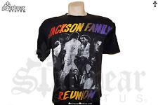 VTG 80s Michael Jackson Family Joe & Janet Retro Old School Dance T Shirt L