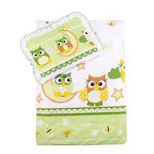 4 Tlg. Set Bezug für Kinderwagen Garnitur Bettwäsche *Decke + Kissen + Füllung*