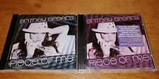 Britney Spears Piece Of Me Limited Poster CD 1 & CD 2 Rare remix