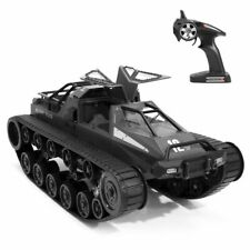 2.4G RC Tank Rechargeable Large Military Tank 1:12 Simulation Gifts for Kids