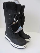 Arctic Shield Womens Snow Boot Insulated Waterproof Black Size 6 NEW #0992