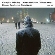 MIECZYSLAW WEINBERG: CHAMBER SYMPHONIES - G.KREMER/KREMERATA BALTICA  2 CD NEUF