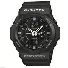 Casio G-shock Watch Ga-150-1aer Black Chronograph 5 Alarms