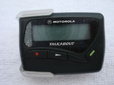 MOTOROLA TALKABOUT MINI PAGER-TESTED-with beltclip holster case.