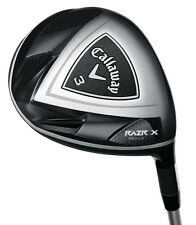 Brand New LH Callaway RAZR X BLACK 15* 3 Fairway Wood Regular flex Graphite