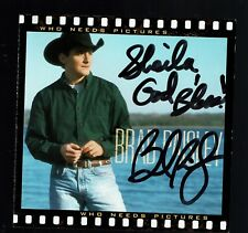 Who Needs Pictures [Enhanced CD] by Brad Paisley (CD, Jun-1999, Arista) SIGNED!