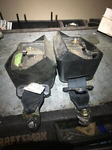 JDM NISSAN 180SX S13 SILVIA  REAR SEAT BELTS LEFT AND RIGHT
