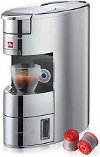Illy X9 Macchina da Caffè IperEspresso Alluminio Cromo 1200w + 14 Capsule