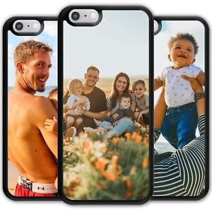 Personalised Phone Case For iPhone Samsung Sony Moto Cover Customise with Photo