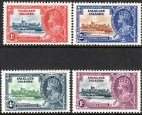 Falkland Islands1935 Silver Jubilee set mint  SG139/140/141/142 (4)