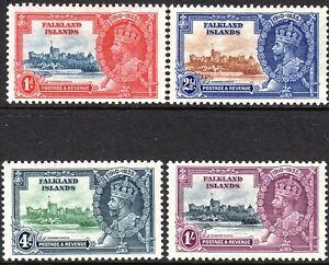 Falkland Islands1935 Silver Jubilee set mint  SG139/140/141/142 (4)
