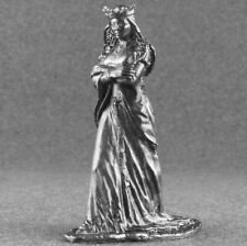 Queen Eleanor Medieval 1/32 Female Civilian Army Metal Toy Soldiers 54mm Tin