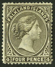 Falkland Islands  1886  Scott #  8  Mint Hinged