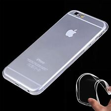 Apple Iphone 6 Flexible Clear Silicon Gel Thin Case Mobile Accessories