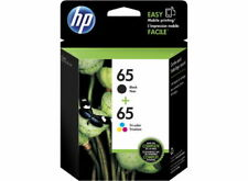 HP #65 Black & Colour Ink Pack 3JB07AA  - Refer to individual yields