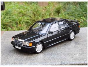 Norev 1/18 Benz 1984 190E 2.3-16 Tailplane Diecast Car Model Boys Girls Gifts