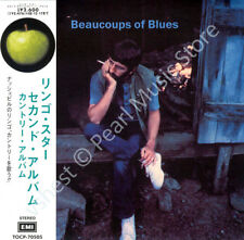 RINGO STARR BEAUCOUPS OF BLUES CD MINI LP OBI The Beatles Plastic Ono Band new