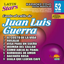 Karaoke Latin Stars 52 Juan Luis Guerra  Vol. 1